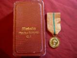 Medalia Meritul Cultural cl.I -anii '70 ,cutie originala