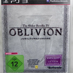 PS3 Oblivion The Elder Scrolls IV + Bonus materials 5Th Anniversary ca nou - Jocuri PS3 Bethesda Softworks, Actiune, 16+, Multiplayer