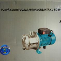 Pompa de apa de suprafata 1.5KW JET 100SS bobinaj cupru capac INOX - Pompa gradina, Pompe de suprafata