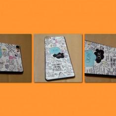 Carcasa Huawei P8 husa protectie spate telefon, ultra subtire model personalizat - Husa Telefon Oem, Plastic, Fara snur