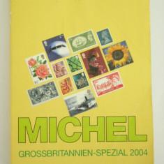 MCCA - CATALOG FILATELIC - MICHEL - MAREA BRITANIE 2004