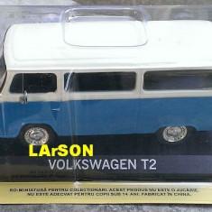 Macheta Volkswagen VW T2 +revista DeAgostini Masini de Legenda 75, 1:43