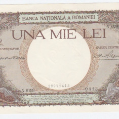 * Bancnota 1000 lei 1938 - 8 - Bancnota romaneasca