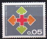 JUGOSLAVIA 1966, Crucea Rosie, serie neuzata, MNH