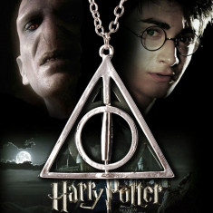 Pandantiv | Lantisor | Medalion HARRY POTTER Deathly Hollows Triangle NOU SILVER