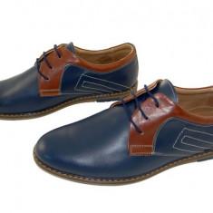Pantofi barbati casual piele naturala Luigi-Dino bl