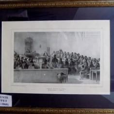 AUGUSTE RAFFET - ADUNAREA GENERALA A BOIERILOR DIN VALAHIA - Pictor roman
