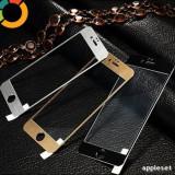 Geam iPhone 6 6S Tempered Glass Black, Lucioasa, Apple