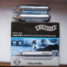 Capsula mentenanta co2 Walther ,ulei siliconic