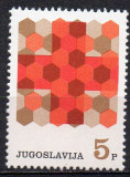 JUGOSLAVIA 1968, Crucea Rosie, serie neuzata, MNH