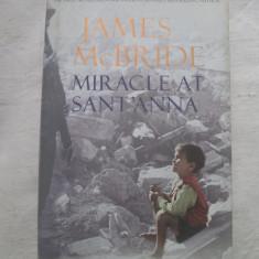James McBride - Miracle At Sant' Anna - Carte in engleza