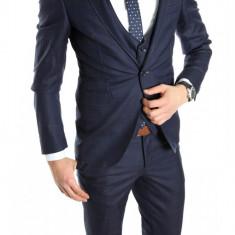 Costum tip ZARA - sacou + pantaloni - vesta costum barbati casual office - 6152, Marime: 46, Culoare: Din imagine