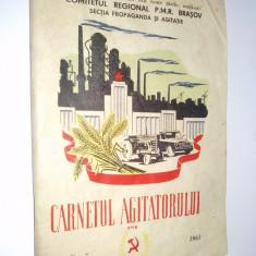 Carnetul agitatorului - Nr. 7 1961 - Carte Epoca de aur