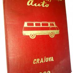 Mapa veche- Intreprinderea de reparatii auto CRAIOVA - 1969 Microbuz TV