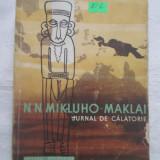 N.N. Mikluho - Maklai - Jurnal de calatorie vol.1 - Carte de calatorie