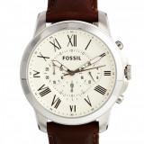 Fossil FS4735 Grant Chronograph ! ! ! Produs nou ! ORIGINAL ! - Ceas barbatesc Fossil, Casual, Quartz, Inox, Piele, Cronograf