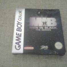 Men in black - The series - Joc Nintendo GameBoy Color ( GameLand ) - Jocuri Game Boy, Actiune, 3+, Single player