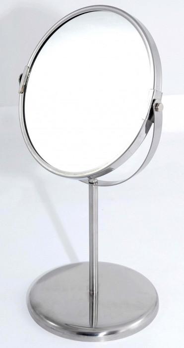 Oglinda de toaleta cu picior - una din fete mareste de 2,5 ori - Noua foto mare