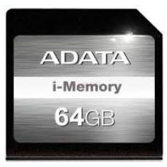 ADATA, I-Memory, 64 GB, SDXC, 95/60Mbs, negru Card SD ASDX64GAUI3CL10-C - Card memorie A-data, Micro SD