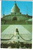 @carte postala(ilustrata)-VRANCEA-MARASESTI -Mausoleul, Necirculata, Printata
