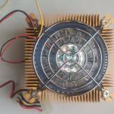 NOU Cooler Ventlator CPU Molex+3pini Socket A Socket 370 Power Cooler termistor, Pentru procesoare