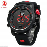 Ceas Ohsen Military Sport, Dual Time, Analog + Led - Ceas barbatesc