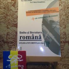 "Maria Boatca - Limba si literatura romana clasa a VIII a ""A3075"", Clasa 8"
