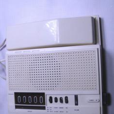 Radio vechi cu ceas si telefon de colectie functional; este f. rar - Aparat radio