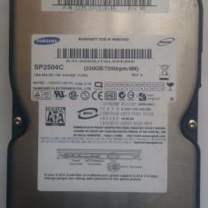 TESTAT HDD Hard Disk 3.5inch 250GB SATA 7200RPM 8M Samsung SP2504C, 200-499 GB, 8 MB