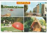 @carte postala(ilustrata)-NEPTUN-Imagini din statiune, Necirculata, Printata