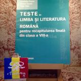Sofia Dobra - Teste de limba si literatura rom pt rec fin din cls VIII