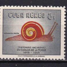 Cuba 1958 fauna MI 595-597 MNH w30 - Timbre straine, Nestampilat