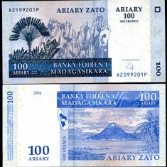 MADAGASCAR- 100 ARIARY 2004- UNC!! - bancnota africa