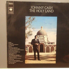 JOHNNY CASH - THE HOLY LAND (1969/ CBS REC/ RFG) - Vinil/Impecabil/Vinyl/Country - Muzica Country Columbia