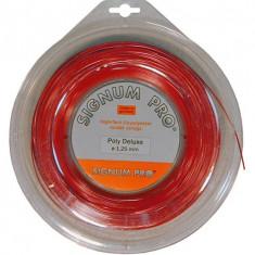 Racordaj Signum Pro Poly Deluxe Red 200m - Racordaj racheta tenis