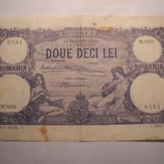 20 lei 1929 ianuarie - Bancnota romaneasca