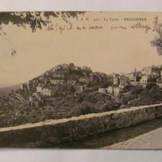 """CY - Ilustrata BELGODERE """"La Corse"""" 1925 Franta necirculata"""