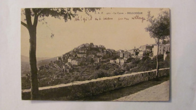 """CY - Ilustrata BELGODERE """"La Corse"""" 1925 Franta necirculata foto"""
