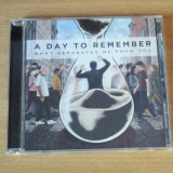 A Day To Remember - What Separates Me From You CD - Muzica Rock Altele