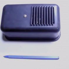 Sonerie romaneasaca auxiliara f. rara pt telefon vechi cu disc bachelita anii 50 - Sonerie telefon