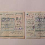 GE - Lot 2 bilete LOTO 1987