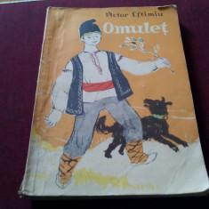 VICTOR EFTIMIU - OMULET - Carte poezie copii