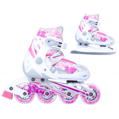 Patine WORKER reglabile Action Pinkola 2in1