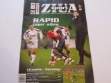Revista fotbal ZIUA SPORT (Rapid Bucuresti)