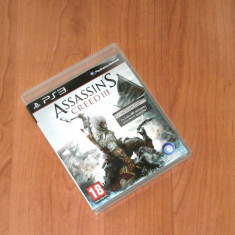 Joc Playstation 3 PS3 - Assassin's Creed III - Jocuri PS3 Ubisoft, Actiune