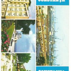 @carte postala(ilustrata)-CONSTANTA - Carte Postala Dobrogea dupa 1918, Circulata, Printata