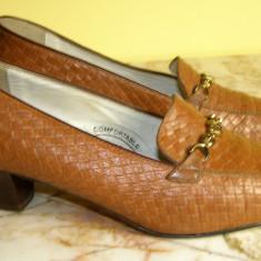 Pantofi dama marca - interior exterior si talpa piele marimea 38 (P397_1) - Pantof dama