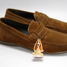 Pantofi barbati marca Hush Puppies interior exterior piele marimea 45 (P569_1) - Mocasini barbati