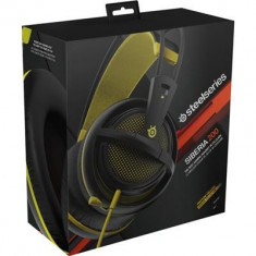 Casti Gaming Steelseries Siberia 200 Proton Yellow - Casca PC Steelseries, Casti cu microfon
