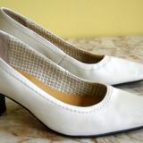 Pantofi dama marca Laura B interior exterior piele marimea 38 (Q178_1)